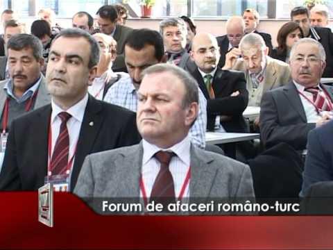 Forum de afaceri româno-turc