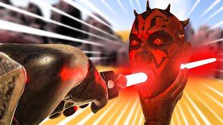 epic darth maul fights in VR