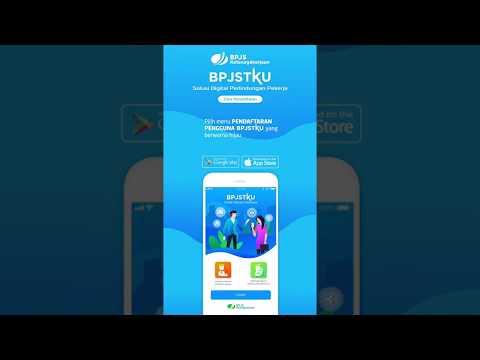 Tutorial Pendaftaran BPJSTKU (Aplikasi Mobile Android / IOS BPJS Ketenagakerjaan)