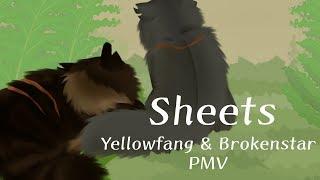 Sheets - Yellowfang and Brokenstar PMV