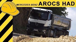 Mercedes-Benz Arocs HAD 2015 - Hydraulic Auxiliary Drive - Daimler Trucks
