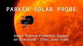 Construção da sonda solar Parker