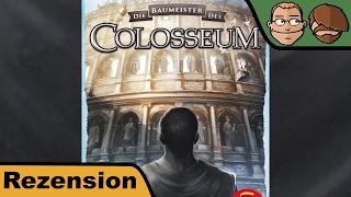 Die Baumeister des Collosseum - Brettspiel - Review