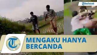 Viral Video Bocah Dilempar ke Kubangan Air Berulang Kali, Polisi Ungkap Beberapa Fakta