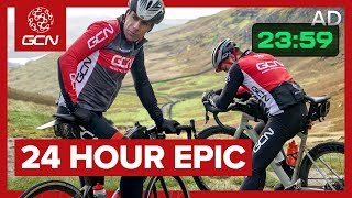 How Far Could We Ride In 24 Hours? | GCN's Winter Epic
