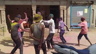 Dance in Holi festival Video
