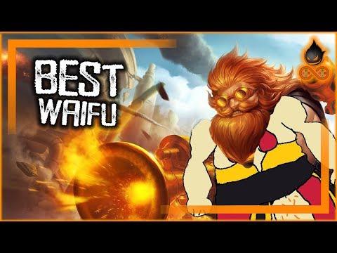 New Golden Waifu Skin + Nerfs and Buffs