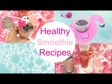 Video Healthy Smoothie Recipes/ Pinterest Inspired Recipes