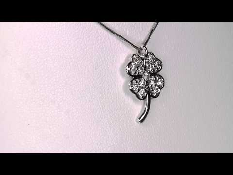 Ladies' Diamond Pendant Designed By Christopher Michael .46 Carat