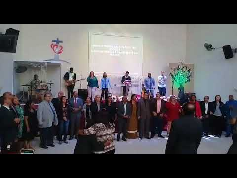 Encerramento culto da família IMW distrital em Bela Vista