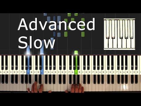 Beethoven - Moonlight Sonata  - Piano Tutorial Easy SLOW - How To Play (synthesia)