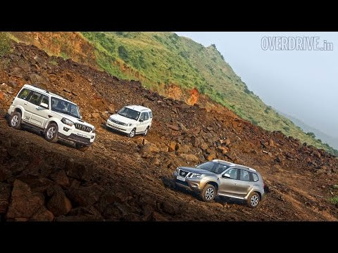 2015 Mahindra Scorpio vs Tata Safari Storme vs Nissan Terrano - Mahindra Videos