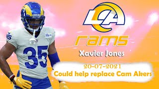 NFL | Rams' Xavier Jones: Could help replace Cam Akers