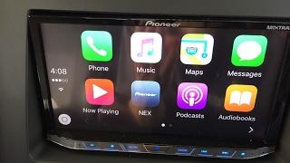 QUICK REVIEW PIONEER AVH-4200NEX HEADUNIT STEREO IN 2014 HONDA RIDGELINE APPLE CARPLAY ANDROID AUTO