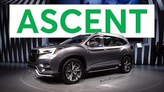 2018 Subaru Ascent Preview   Consumer Reports
