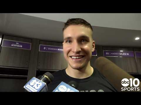 Bogdan Bogdanovic on career-high 31 point performance to lead Kings over Suns