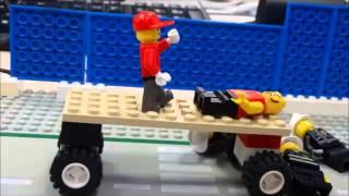 preview picture of video 'die verfolgungsjagd - Computerkids go Brickfilmers an der vhs Straubing'