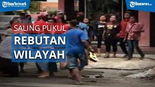 Viral Video Gelandangan dan Pengamen Saling Adu Jotos untuk Memperebutkan Wilayah di Mojokerto