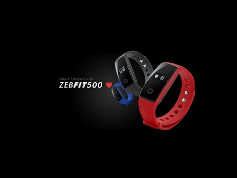 Zeb Fit500 Smart Fitness Band with Heart Rate Sensor