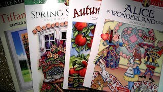 Creative Haven Coloring Book Mini Haul