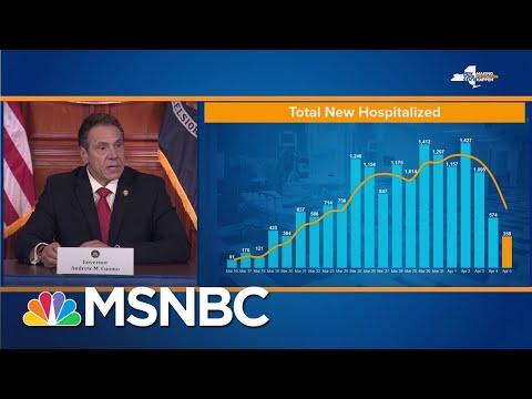 Gov. Andrew Cuomo Suggests 'Possible Flattening' Of New York Coronavirus Curve   MSNBC