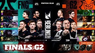 Fnatic vs G2 Esports - Game 2 | Grand Finals PlayOffs S10 LEC Spring 2020 | FNC vs G2 G2