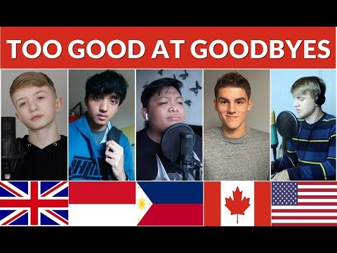 Who Sang It Better : Too Good At Goodbyes (USA, Philippines, Canada, UK, Indonesia) Mp3