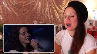 Vocal Coach REACTS To LANA DEL REY'S  BEST LIVE VOCALS