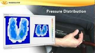 Antidekubitní sedací systém  VARILITE MERIDIAN WAVE - Varilite technology