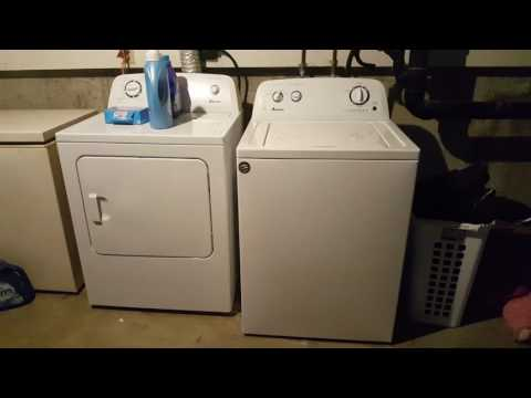 Amana Washer And Dryer MUST WATCH!!!
