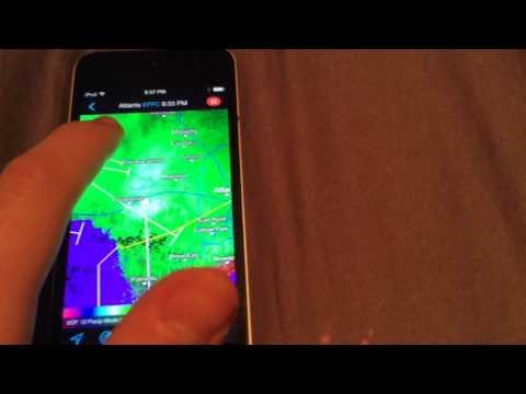RadarScope – App Review – Best Weather Radar App period.