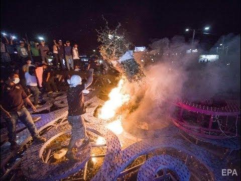 Проиграть видео - В Манагуа горят покрышки