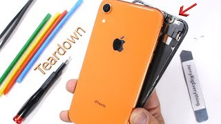 Apple iPhone XR Teardown! - How to open the colored iPhone?