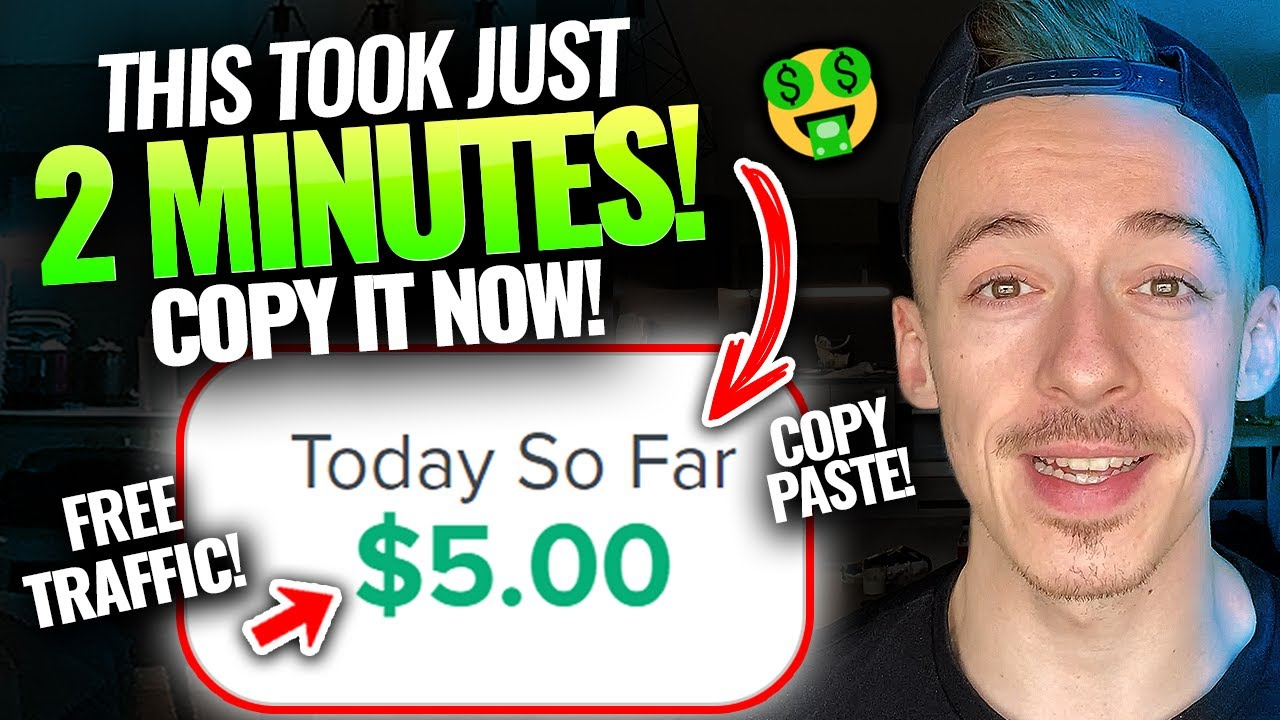Make money $ 5 EVERY 2 Minutes WITHOUT Experience (FAST METHOD!)|Generate Income Online For Beginners thumbnail