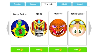 """NEW AGARIO SKINS !!! #4 - """"The Lab"""" Skin Pack"""