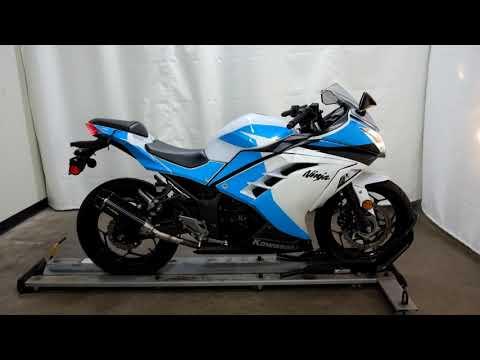 2015 Kawasaki Ninja® 300 ABS in Eden Prairie, Minnesota - Video 1