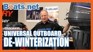 How to Prepare Your Boat for Spring | De-Winterizing an Outboard Engine | Boats.net