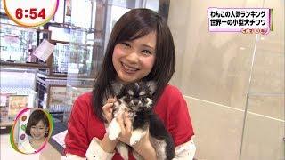 市道真央めざましテレビ「イマドキ」◆12/04/12
