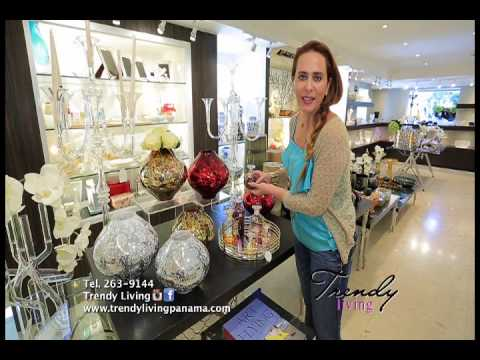 Trendy Living - Bellos accesorios y fina cristalería. Casa Ideal