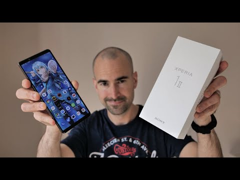 External Review Video PM7cbexmAgI for Sony Xperia 1 II 5G Smartphone w/ Alpha