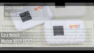 Cara Mudah Unlock Modem Bolt E5372S Max Dan Slim