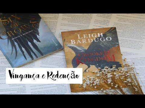 CROOKED KINGDOM: Vingança e Redenção por Leigh Bardugo | Resenha | Je Vasques
