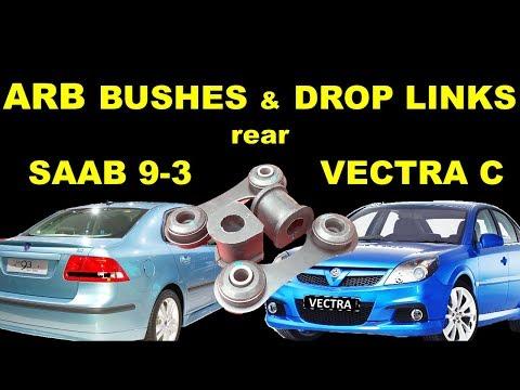 Saab 9-3 Rear Anti Roll Bar Bushes and Drop Links