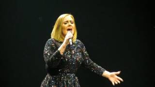 Adele - Hello (Live @ Rogers Arena in Vancouver, BC)