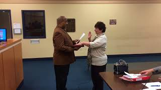 Rosemary DeQuinzio sworn into Bridgeton City Council