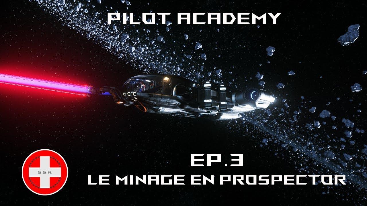 Star Citizen 3.7.1 PTU FR - Le minage en Prospector