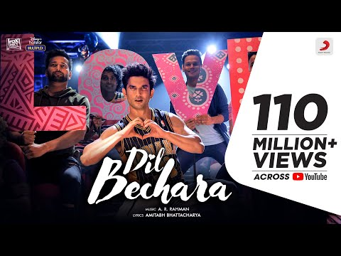 Main Tumhara Song Lyrics | Dil Bechara Songs Lyrics | Sushant Sing