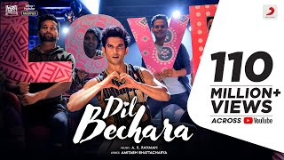 Dil Bechara – Title Track | Sushant Singh Rajput | Sanjana Sanghi | A.R. Rahman |Mukesh C |Amitabh B - Download this Video in MP3, M4A, WEBM, MP4, 3GP