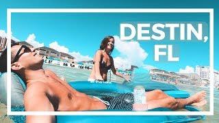 ONE OF FLORIDAS BEST BEACHES IN DESTIN, FL TRAVEL VLOG