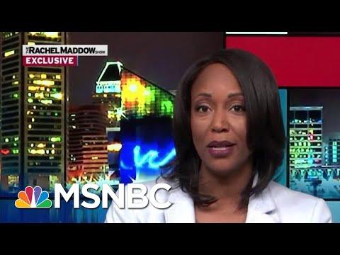 Maya Rockeymoore Cummings To Run For Her Husband's Seat | Rachel Maddow | MSNBC